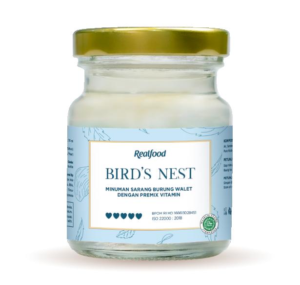Realfood Super Mom Minuman sarang burung walet dengan premix vitamin
