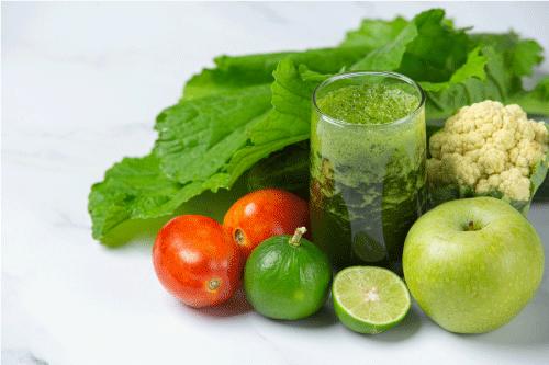 Jus sayur hijau