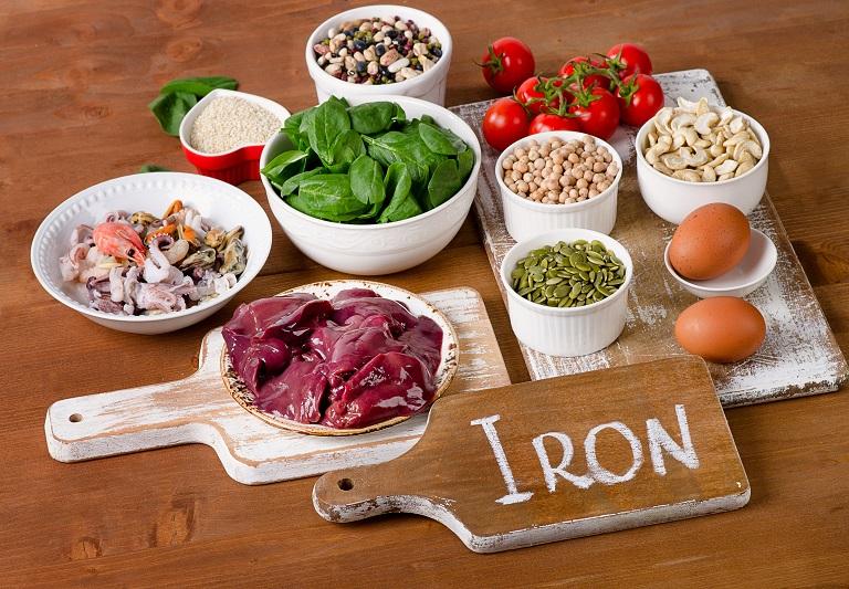 makanan yang mengandung tinggi zat besi